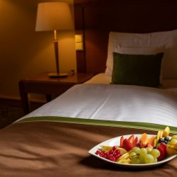 Obst am Zimmer © Greenfield Hotel